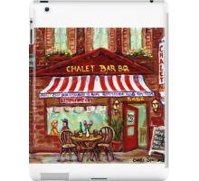 MONTREAL CHALET BBQ ROTISSERIE iPad Case/Skin