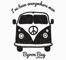 Byron Bay Australia by PopGraphics