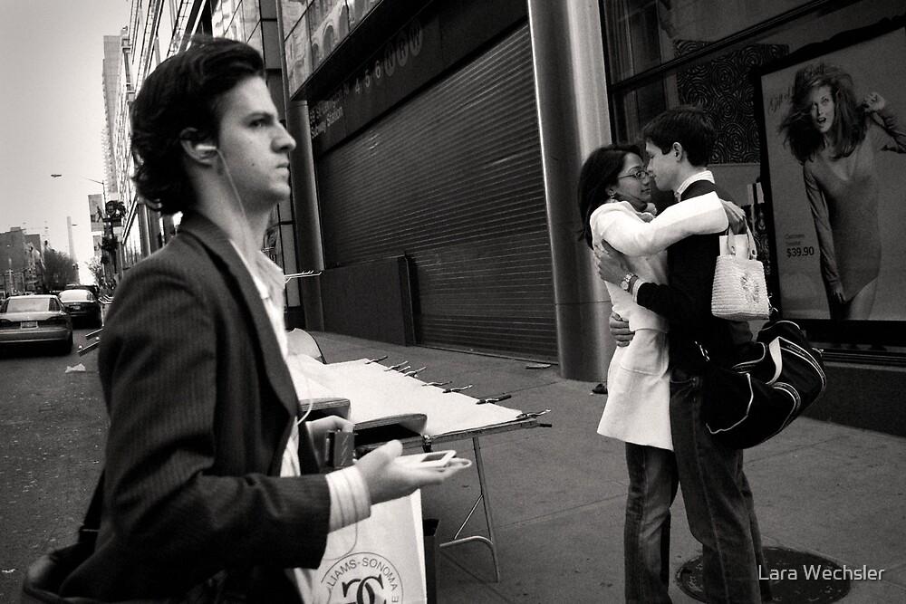 Street Embrace by Lara Wechsler