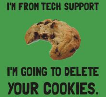 Tech Support Cookies Kids Clothes