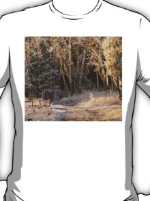 A Beautiful Frosted Forest T-Shirt
