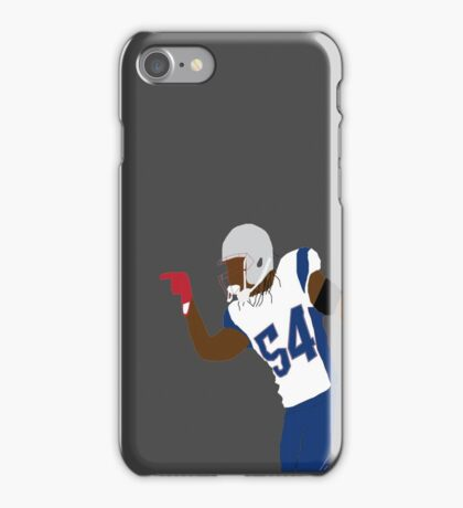 Patriots Hightower super bowl  iPhone Case/Skin