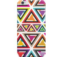 Colourful Triangle Pattern iPhone Case/Skin