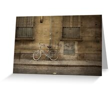 Firenze Bicycle Greeting Card