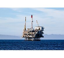 Oil Rig Photographic Print