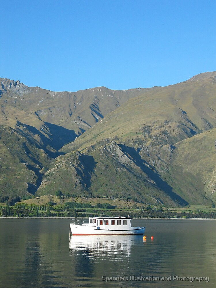 Lake Wanaka, New Zealand by spanners79