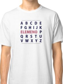 English Alphapbet ELEMENO Song Classic T-Shirt