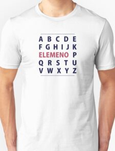 English Alphapbet ELEMENO Song Unisex T-Shirt