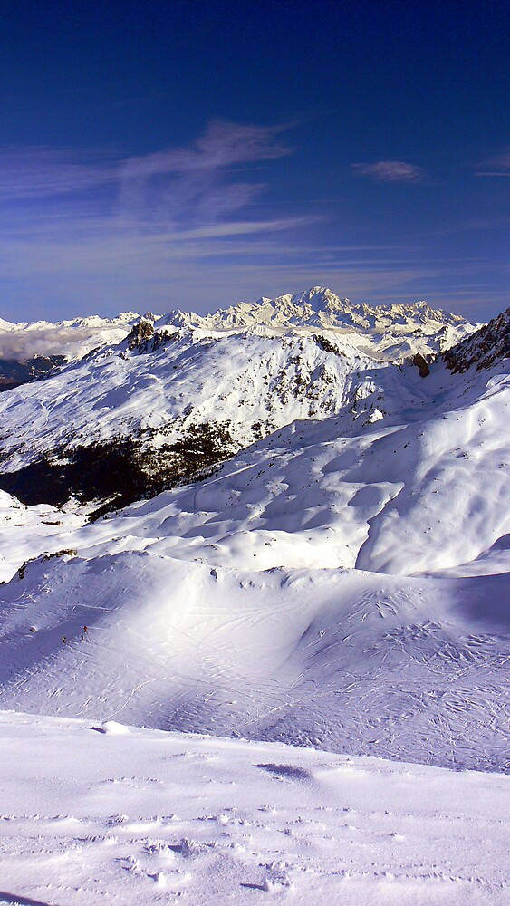 Mt Blanc from Val Thorens by paulrd1