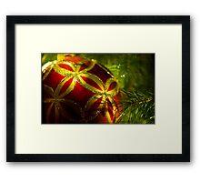 Christmas Ornament Framed Print