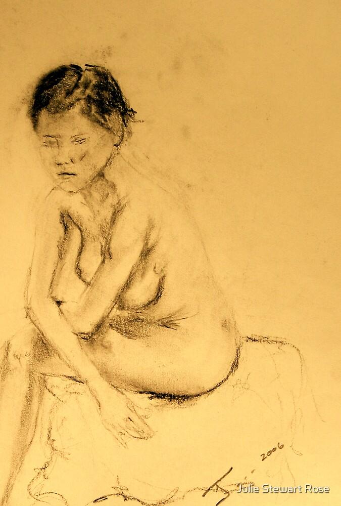 Asian Nude Girl by Julie Stewart