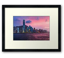 HONG KONG 04 Framed Print