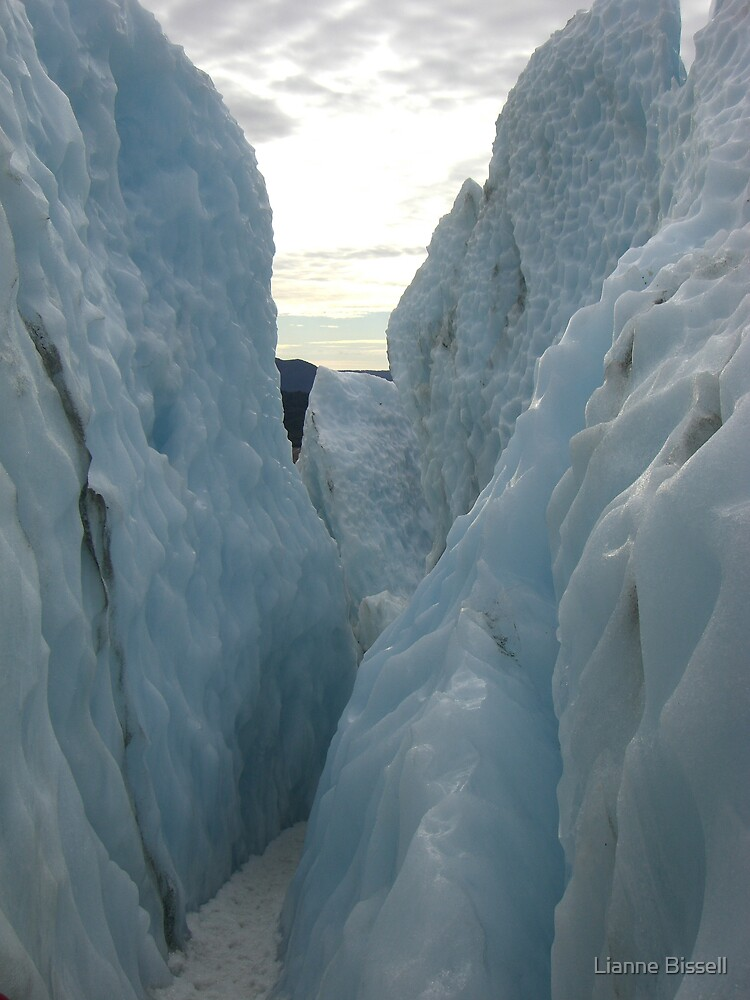Ice walls by Lianne Bissell