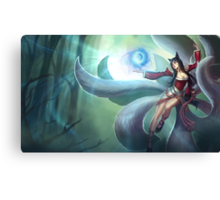 Ahri League of Legends Lol Canvas Print