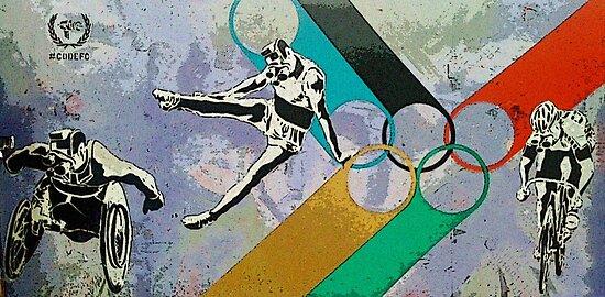 London 2012 street art! by Tim Constable