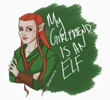 Tauriel - My Girlfriend is an Elf by arkenscone