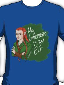 Tauriel - My Girlfriend is an Elf T-Shirt