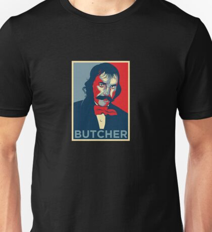 "Bill the Butcher ""Hope"" Poster Unisex T-Shirt"