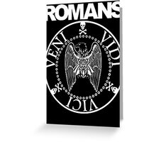 Romans Greeting Card