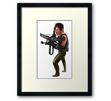 Walking Dead: Daryl Dixon Framed Print