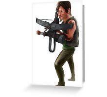 Walking Dead: Daryl Dixon Greeting Card