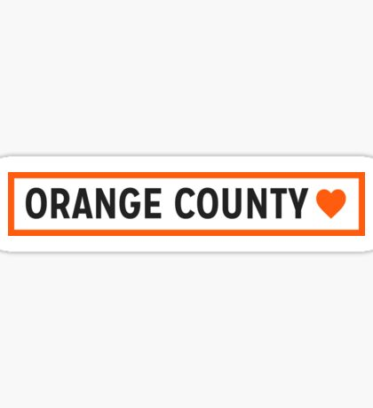 Orange County Lite Sticker
