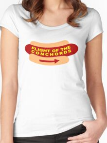 Flight of the Conchords Band Sign Women's Fitted Scoop T-Shirt
