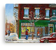 ST. VIATEUR BAGEL Canvas Print