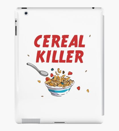 Breakfast Cereal Killer iPad Case/Skin