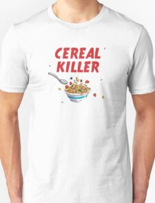 Breakfast Cereal Killer Unisex T-Shirt