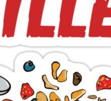 Breakfast Cereal Killer Sticker