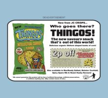 Thingos Advert by Malcolm Kirk