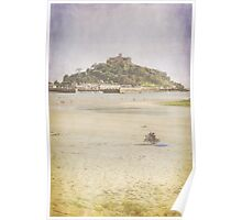 A View of St Michaels Mount Poster