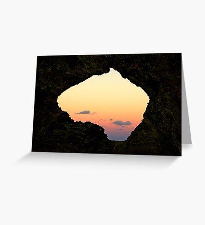 Australia Rock - Narooma Greeting Card