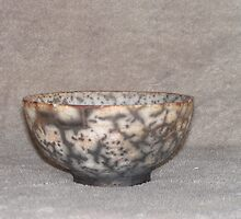 'naked raku' bowl by fatman