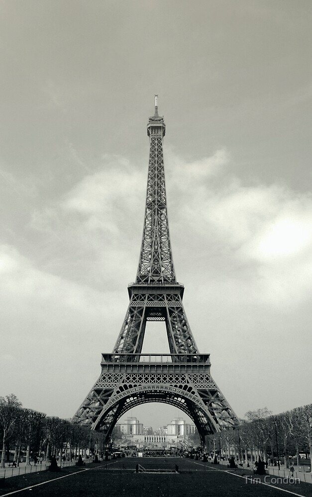 Eiffel Tower 2 by Tim Condon