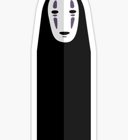 No Face   Spirited Away Vector Sticker