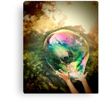 World Within Canvas Print