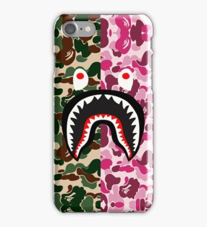 Bape Camo Shark Army iPhone Case/Skin