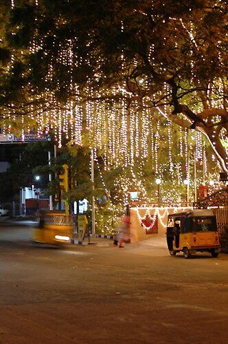 Streets of Chennai, India by sasi