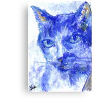 Eye Contact (pastel) Canvas Print