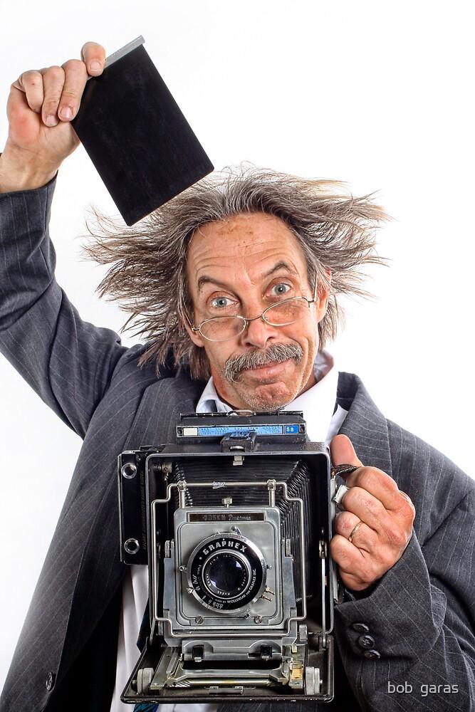 The photographer by bob  garas