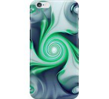Green Swirls iPhone Case/Skin