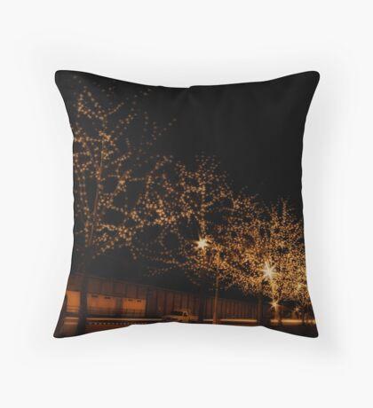 Salamanca Lights Throw Pillow