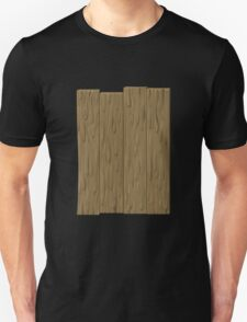 Glitch Abbasid Land fence wood 1 T-Shirt