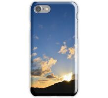 Novemeber Sunset ~ digital paint effect iPhone Case/Skin
