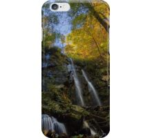 Lee Falls on an Autumn Morning iPhone Case/Skin