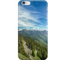 Obstruction Point Road iPhone Case/Skin