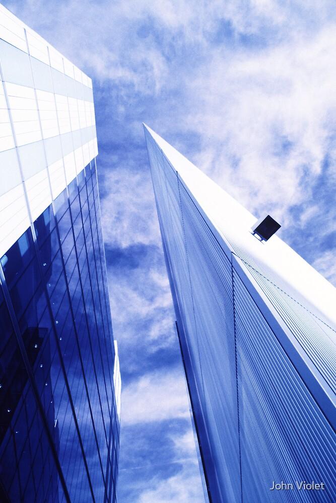 Skyscrapers by John Violet