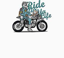 Ride fur ya life: Wolfman Unisex T-Shirt